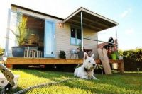 Scamper Holidays Dog friendly Glamping in Gower